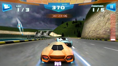 Fast Racing 3D APK screenshot thumbnail 1