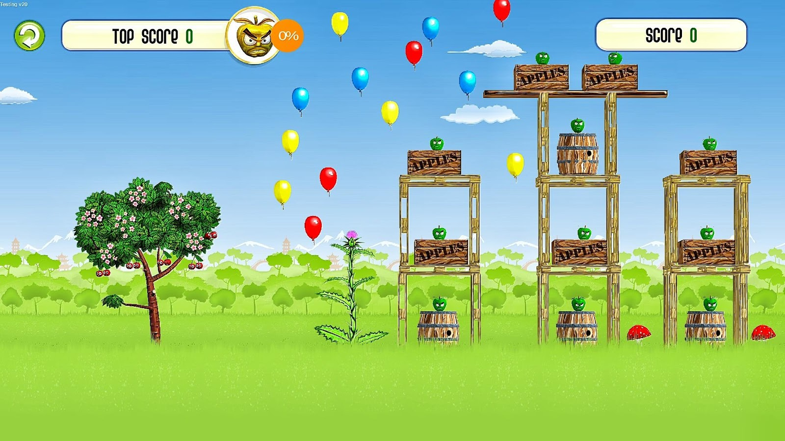 Orchard Wars- screenshot