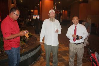 Photo: Mike Lee meets Marlin Fryberg (left) and John Gottstein.