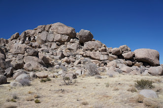 Photo: Rock formations similar to those GSM members saw in Joshua Tree National Park in April, 2012