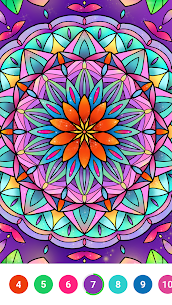 Super Color – Paint by Number, Free Puzzle Game For PC Windows 10 & Mac 4