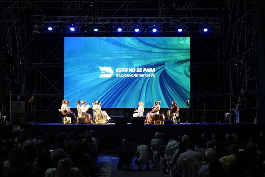 Las bailaoras que formaron parte del espectáculo dirigido por Anabel Veloso.
