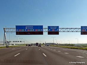 Photo: 2016-05-09. Op weg naar Schiphol.
