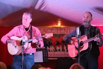 Photo: Chris Algar and Brian Bull
