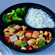Kung Pao Chicken with White Rice Combo