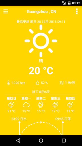 天氣預報:5天|玩天氣App免費|玩APPs