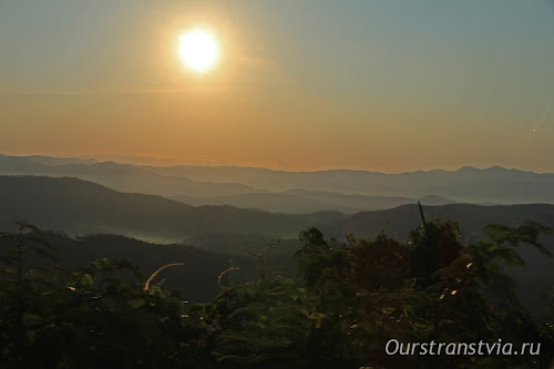 Далатский район, горы Вьетнама