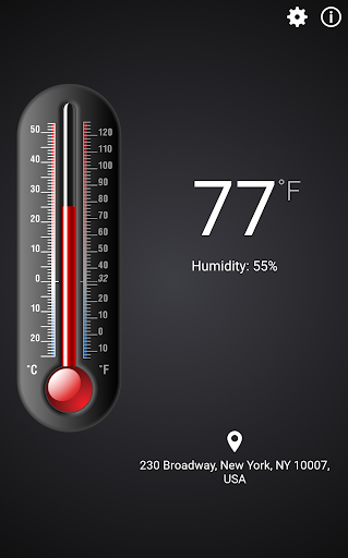 Thermometer++ screenshot
