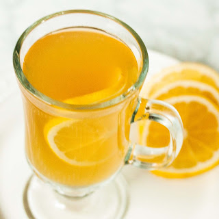 Chamomile-Honey Hot Toddy.