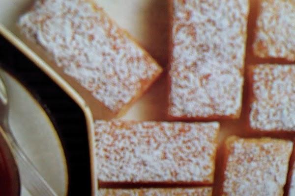 Lemon Almond Strips Recipe
