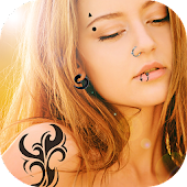Tattoo and Piercing Photo App