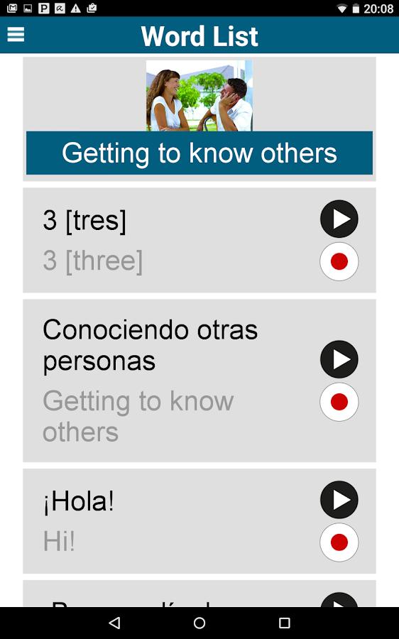 Learn 50 languages- screenshot
