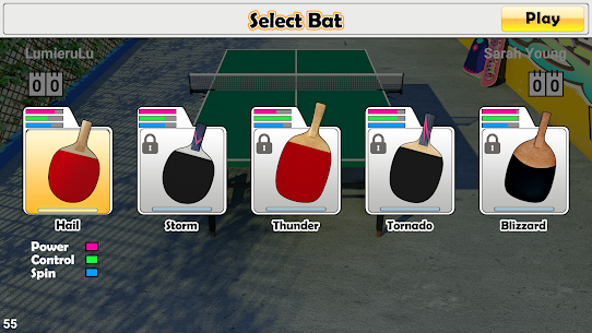Virtual Table Tennis 8