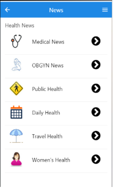 ObGyneConsultants Mobile- screenshot