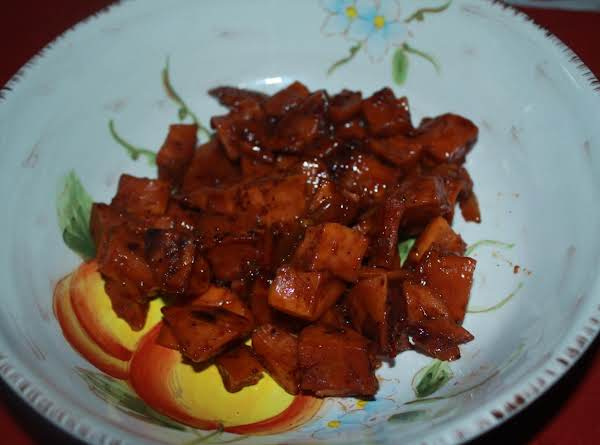 Roasted Sweet Potatoes With A Twist