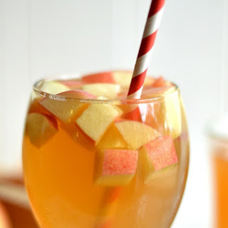 One Glass Apple Cider Sangria