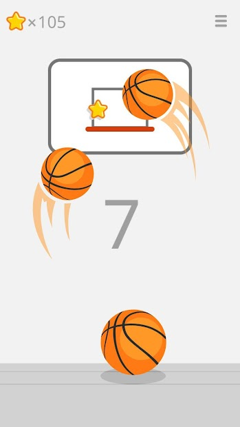 Ketchapp Basketball Android App Screenshot