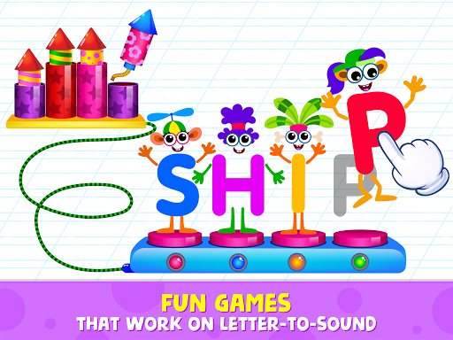 Phonics: Reading Games for Kids & Spelling Apps - screenshot