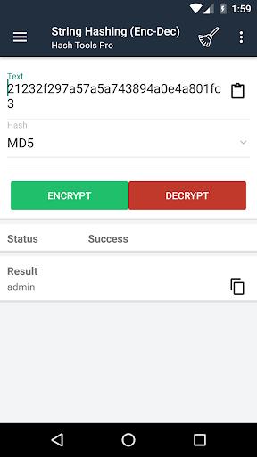 Screenshot 4 Hash Tools - String and File Hashing