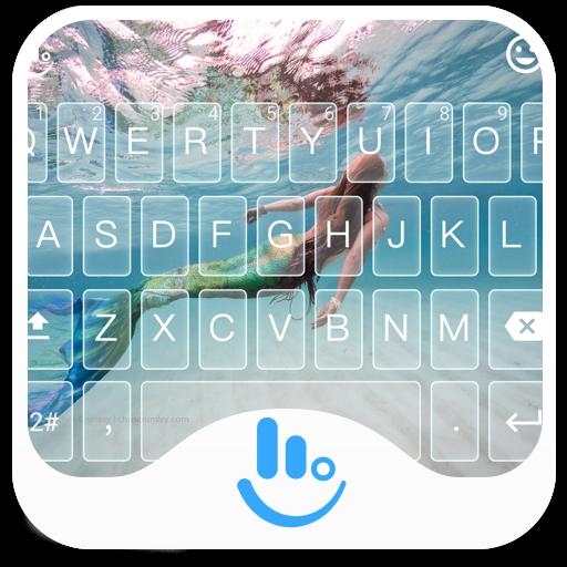 TouchPal Mermaid Keyboard Skin