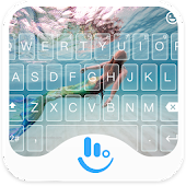 TouchPal Mermaid Keyboard Skin
