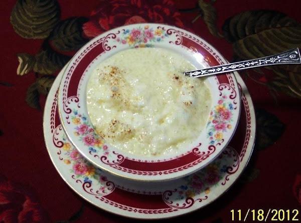 Fluffy  Tapioca  Pudding Recipe