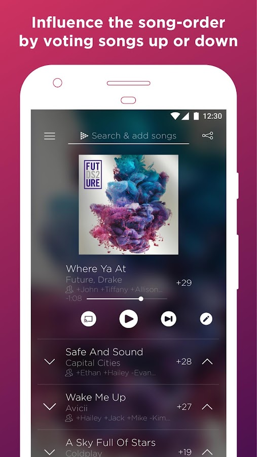 OutLoud - Your Social Jukebox- screenshot