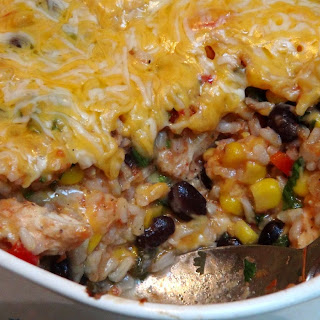 Chicken Rice Casserole – TexMex