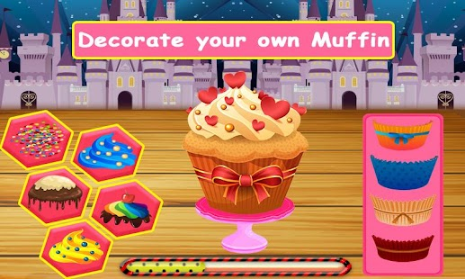 Download free Lunchbox maker : Muffin cooking and baking game for PC on Windows and Mac apk screenshot 1
