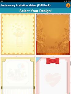 Anniversary invitation cards android apps on google play anniversary invitation cards screenshot thumbnail stopboris Gallery