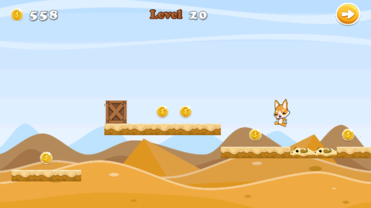 Run Rush - JumpyDog n Friends- screenshot
