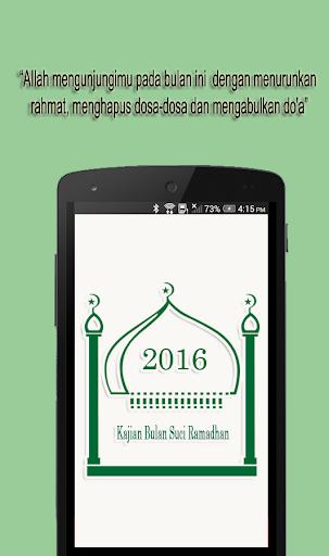 Kajian Bulan Suci Ramadhan