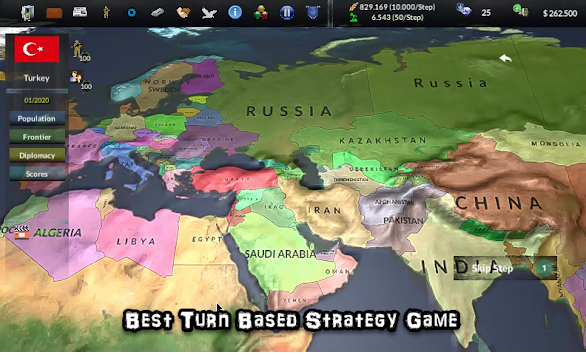 Time of Conquest: Turn Based Strategy apk screenshot