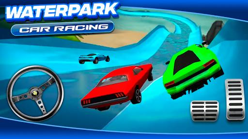 Waterpark Car Racing 1.0 screenshots 2