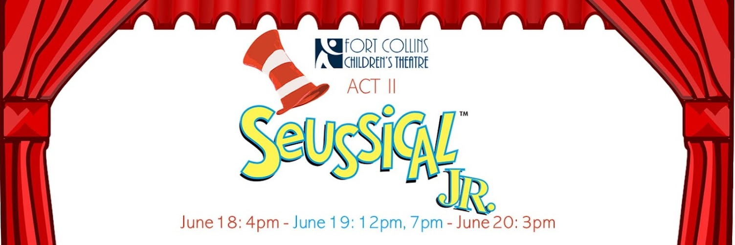 Act II Seussical, JR. - June 18 @ 4pm