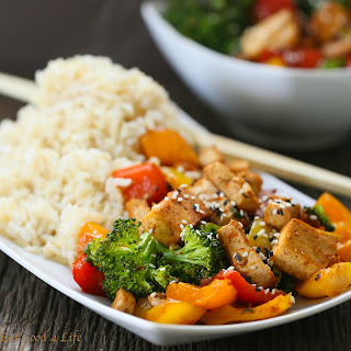 Quick Veggie Tofu Stir-fry.