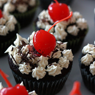 Chocolate Whiskey and Beer Cupcakes