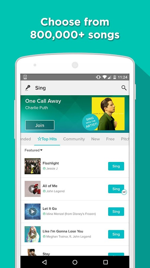 Sing! Karaoke by Smule- screenshot