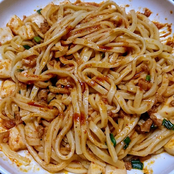 蒙古タンメン中本 汁なし麻辛麺 by ymkwt