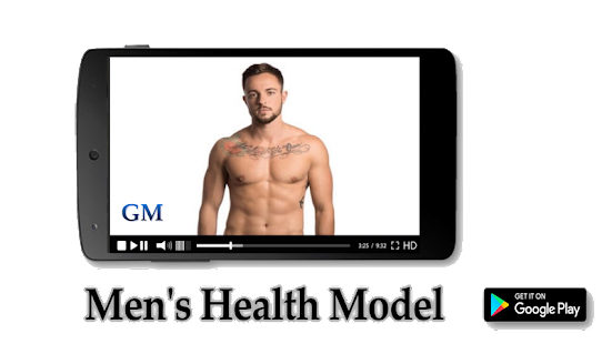 Men's Health Model - náhled