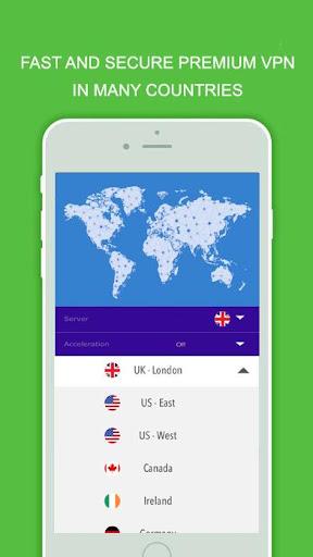Booster VPN Unlimited Free Internet Freedom SSH 2.1 screenshots 2