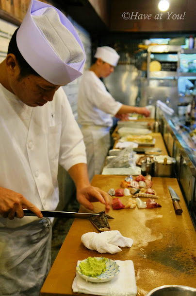 Ryu Sushi's chef