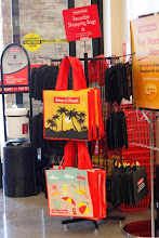 Photo: Right at the entrance of the store you can buy your reusable shopping bags.