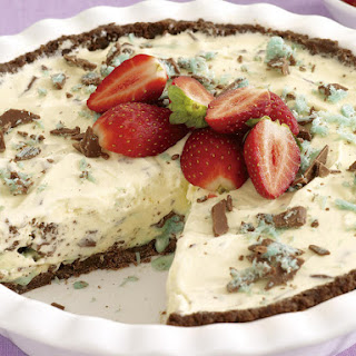 Mint-Chocolate Ice Cream Pie.