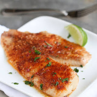 Pan-seared Tilapia With Chipotle-lime Butter.
