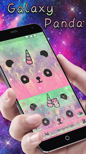 Cuteness Panda Keyboard Theme -  Cute Emojis,Gifs for PC