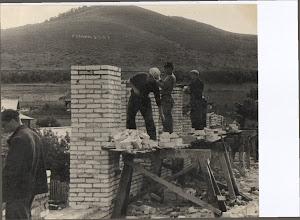 Photo: Строительство здания кинотеатра 1971-73 гг.
