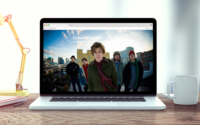 Relient K New Tab Music Theme