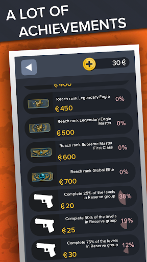 Ultimate Quiz for CS:GO - Skins | Cases | Players screenshots 23
