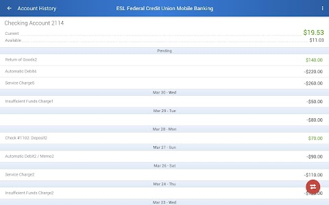 ESL Mobile Banking screenshot 11